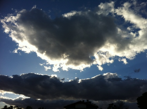 Sun behind Clouds Giasuniverse